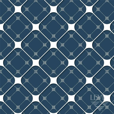 DG-CO-FL-05 | Blues | LEVEY | Canada's National Wallcovering Distributor: click to enlarge