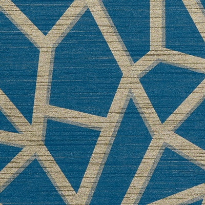 DN2-DHG-07 | Metallic Golds | Blues | LEVEY Wallcovering and Interior Finishes: click to enlarge