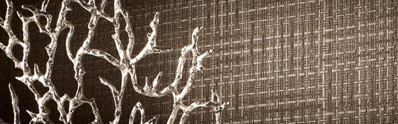 Brown Wallcovering, Sandro Commercial Vinyl Wallcovering, DeNovo Wall from Levey