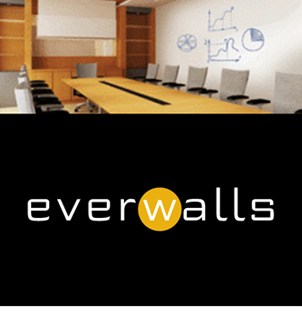 everWalls Dry Erase Commercial Wallcovering from Levey