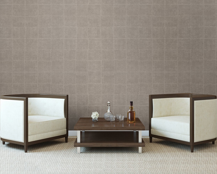 Taupe Wallcovering, Novelio Commercial Wallcovering from Levey
