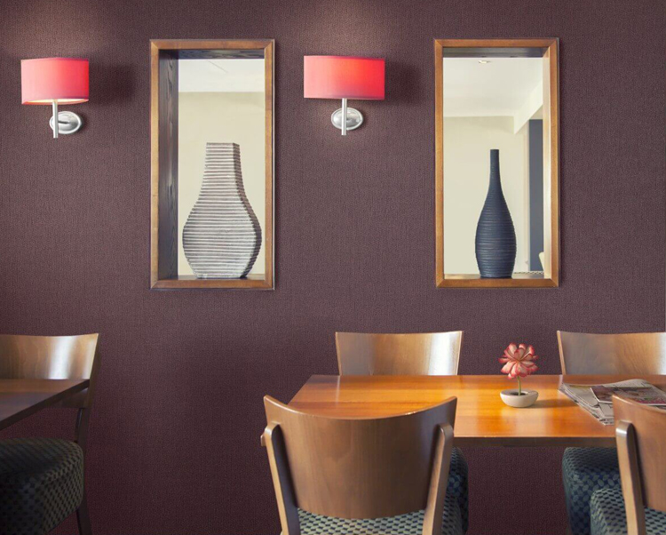 Purple Wallcovering, Novelio Commercial Wallcovering from Levey