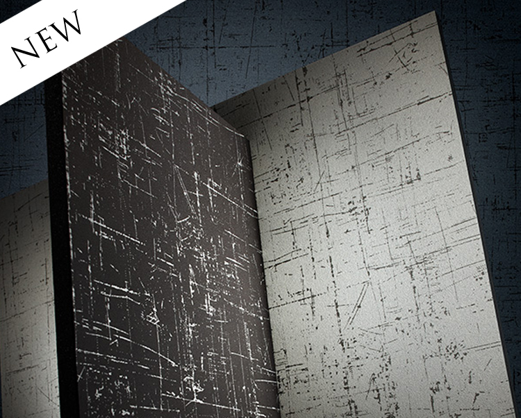 Black Wallcovering, Azeri Commercial Vinyl Wallcovering from Levey