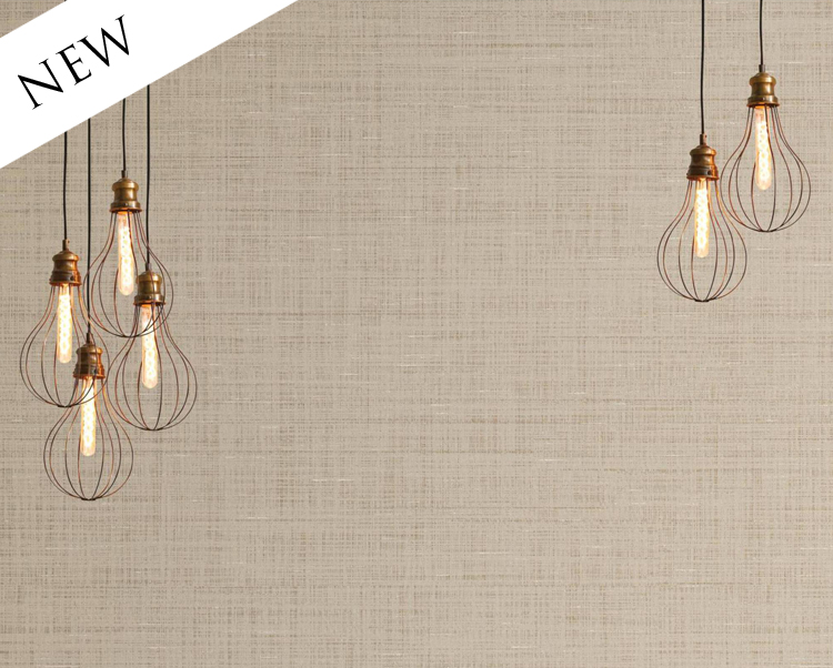 Beige Wallcovering, District Silk Commercial Vinyl Wallcovering from Levey