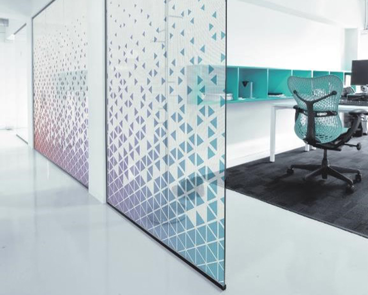 Fabric Window Film Glass Finishes, Levey Industries