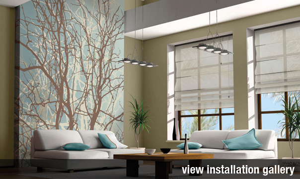 Elegant Trendy Walls Digital Gallery Levey Industries With Wall Covering Designs.