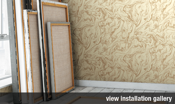 Restoration Elements Commercial Wallcovering Installation Gallery from Levey