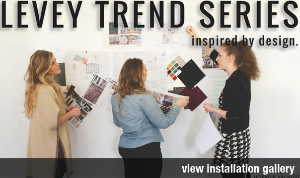 Wallcovering Trend Series from Levey