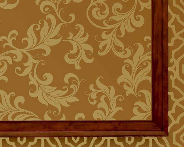 Cream and Gold Wallcovering, Juliette Commercial Wallcovering from Levey