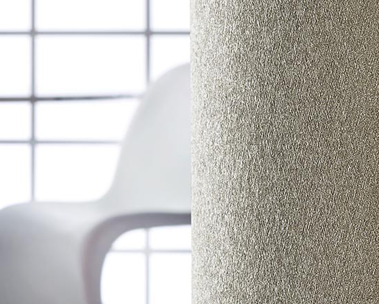 Taupe Wallcovering, Matisse Texture Commercial Vinyl Wallcovering from Levey