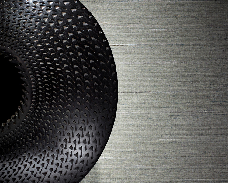 Grey Wallcovering, Shima Texture Commercial Wallcovering from Levey