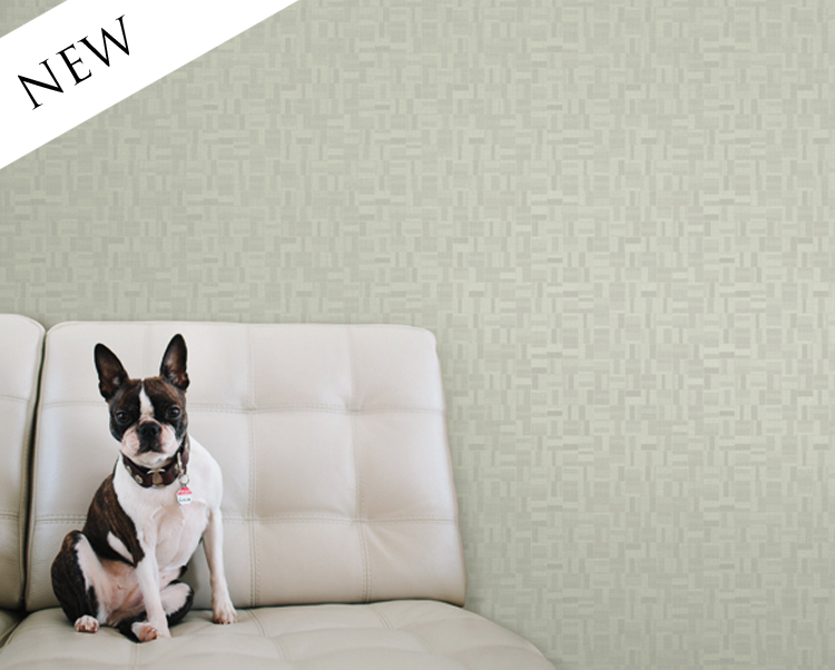 What A Relief Wallcovering, Block 35 Commercial Vinyl Wallcovering from Levey
