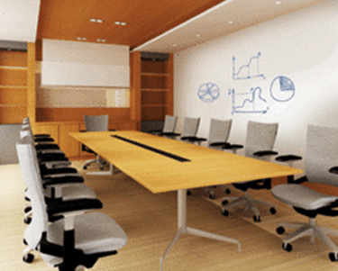 WriteWalls Dry Erase Wallcovering Installation from Levey