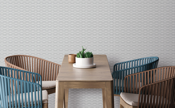 Frequent Flyer Wallcovering from LEVEY