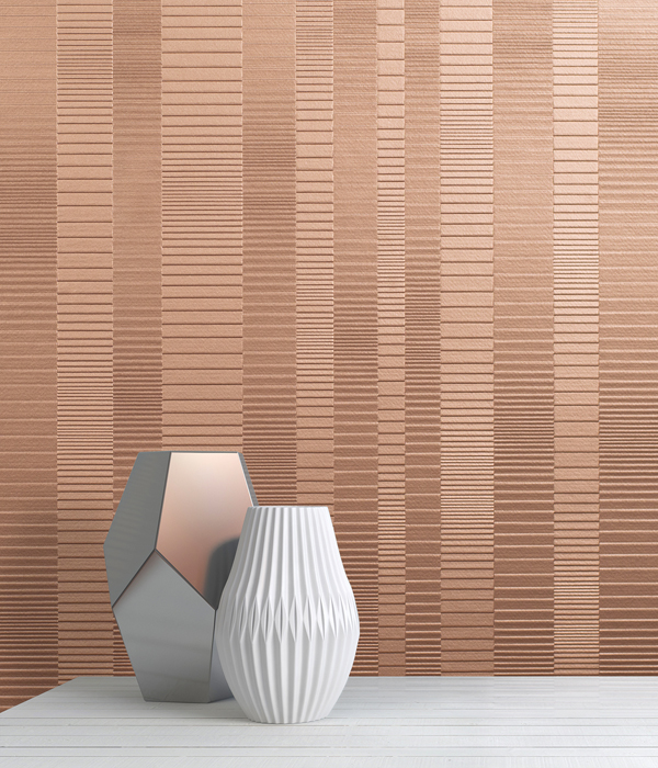 Louver Wallcovering from LEVEY