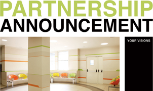 3M Partnership Announcement Wallcovering, Levey Wallcoverings and Architectural Finishes