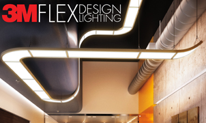 3M Flex Lighting, Levey Wallcoverings and Architectural Finishes