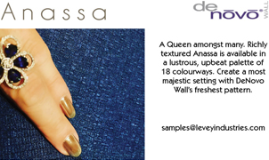 Anassa Wallcovering from Levey Wallcoverings and Architectural Finishes