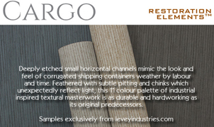 Cargo Wallcovering, Levey Wallcoverings and Architectural Finishes