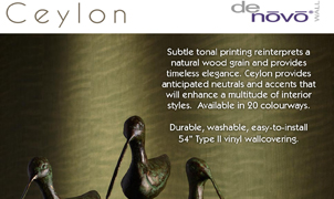 Ceylon Wallcovering, Levey Wallcoverings and Architectural Finishes