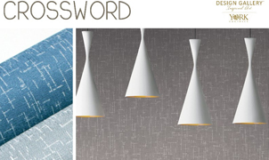Crossword Wallcovering, Levey Wallcoverings and Architectural Finishes