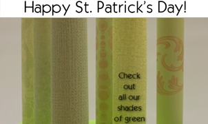 Happy St. Patricks Day, Levey Wallcoverings and Architectural Finishes