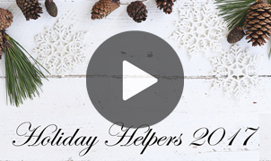 Holiday Helpers 2017 from Levey Wallcoverings and Architectural Finishes