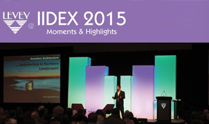 IIDEX 2015, Levey Wallcoverings and Architectural Finishes