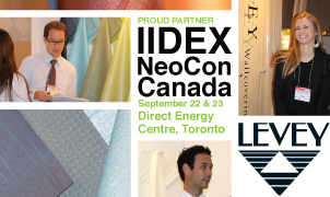 IIDEX 2011, Levey Wallcoverings and Architectural Finishes