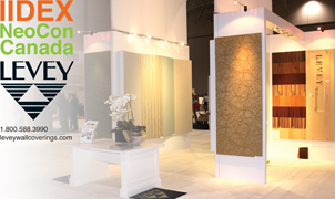 Thank you for visiting our booth, IIDEX 2011, Levey Wallcoverings and Architectural Finishes