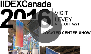 IIDEX Canada 2016 Announcement, Levey Wallcoverings and Architectural Finishes