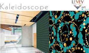 Kaleidoscope Wallcovering, Levey Wallcoverings and Architectural Finishes