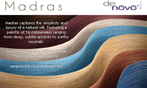 Madras Wallcovering, Levey Wallcoverings and Architectural Finishes
