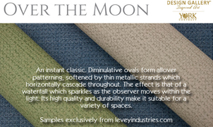 Over The Moon Wallcovering, Levey Wallcoverings and Architectural Finishes