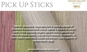 Pick Up Sticks Wallcovering, Levey Wallcoverings and Architectural Finishes