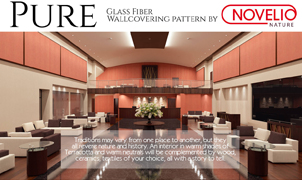 Pure Wallcovering, Levey Wallcoverings and Architectural Finishes