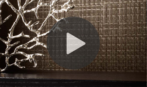 Sandro Wallcovering Video from LEVEY