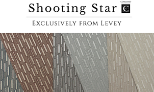 Shooting Star Wallcovering, Levey Wallcoverings and Architectural Finishes