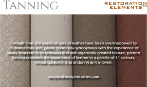 Tanning Wallcovering, Levey Wallcoverings and Architectural Finishes