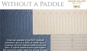 Without A Paddle Wallcovering, Levey Wallcoverings and Architectural Finishes