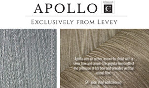 Artemis Wallcovering, Levey Wallcoverings and Architectural Finishes