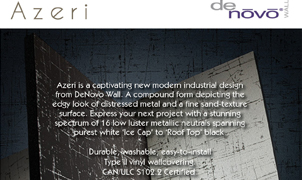 Azeria Wallcovering from Levey Wallcoverings and Architectural Finishes