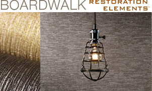 Boardwalk Wallcovering, Levey Wallcoverings and Architectural Finishes
