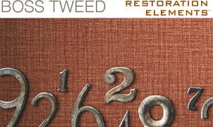 Boss Tweed Wallcovering, Levey Wallcoverings and Architectural Finishes