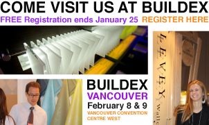 Buildex 2012, Levey Wallcoverings and Architectural Finishes