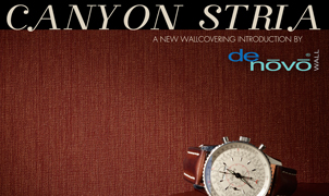 Canyon Stria Wallcovering, Levey Wallcoverings and Architectural Finishes