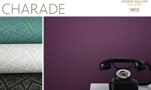 Charade Wallcovering, Levey Wallcoverings and Architectural Finishes