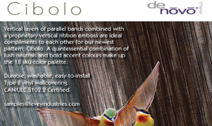Cibolo Wallcovering from Levey Wallcoverings and Architectural Finishes
