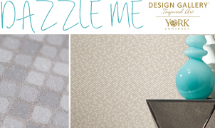 Dazzle Me Wallcovering, Levey Wallcoverings and Architectural Finishes