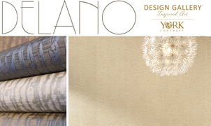 Delano Wallcovering, Levey Wallcoverings and Architectural Finishes